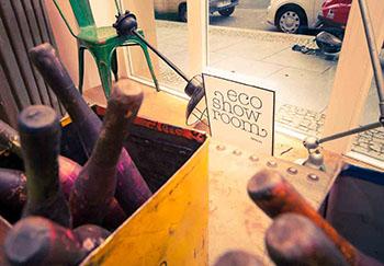 Im EcoShowroom entsteht ein Repaircafé für die Teilnehmer des Trendwalks