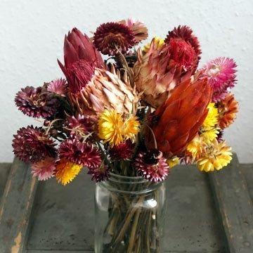 Deko aus Trockenblumen selber machen