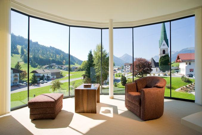 Nachhaltiger Tourismus kann auch modern gehalten sein ©  Juffing Hotel & Spa/ Tirol