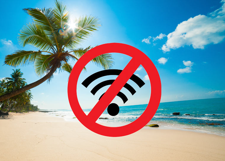 Urlaub vom Elektrosmog