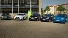 Saubere Autos,  keine dominierende Technologie