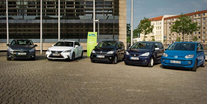 Umweltfreundliche Autos im Ranking