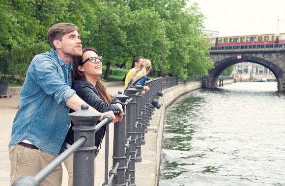 Romantische Städtereise zum Valentinstag