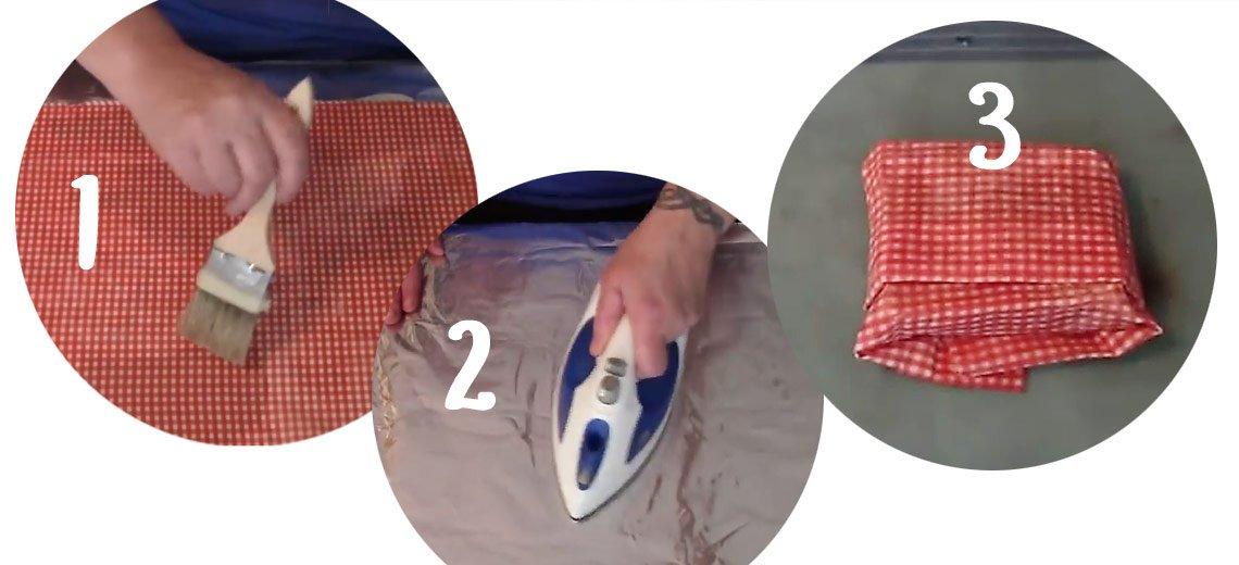 Tschüss Plastikfolie: So kannst du vegane Wachstücher selber machen!