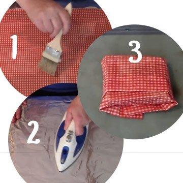 Tschüss Plastikfolie: Wachstücher ganz einfach selber machen!
