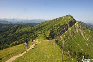 Der Maximiliansweg über die Alpen von West nach Ost © Wikinger Reisen