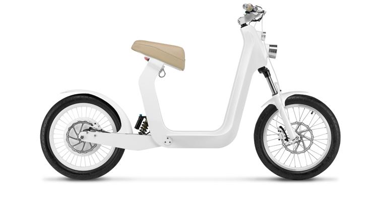 Dieser Motorroller wird mit Solarstrom betrieben und bringt Sie zuverlässig zur Arbeit, in die Stadt oder zu den Freunden.