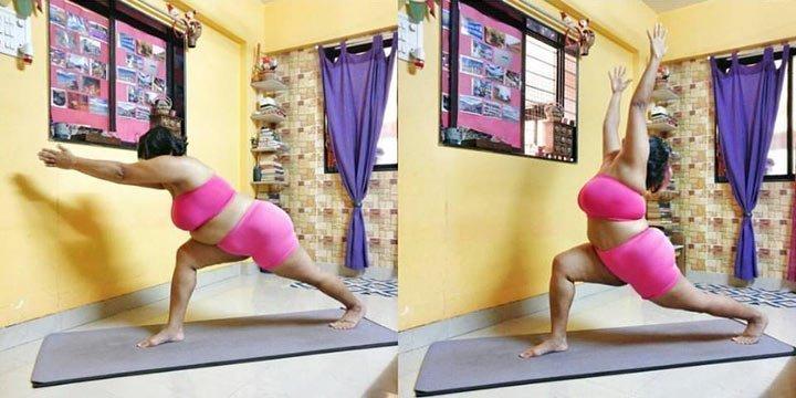 Yoga gab ihr die Kraft ihren Körper zu lieben