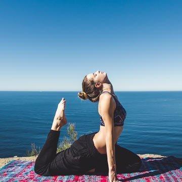 Yoga mit ätherischen Ölen