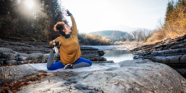 Yoga: Plastikfrei und naturnah erleben
