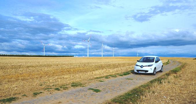 Alternative Energien und Elektromobilität vereint