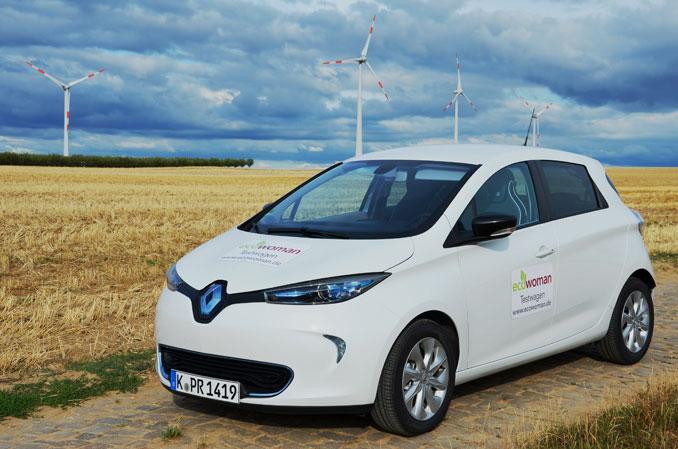 Elektromobilität ist stylish der Renault zoe