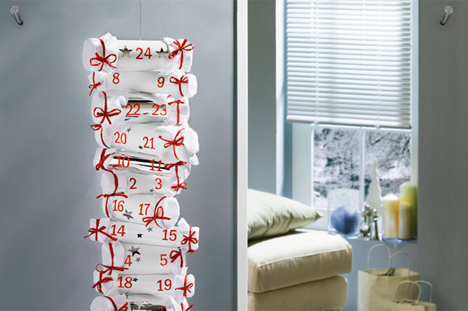 adventskalender basteln himmelsleiter. Black Bedroom Furniture Sets. Home Design Ideas