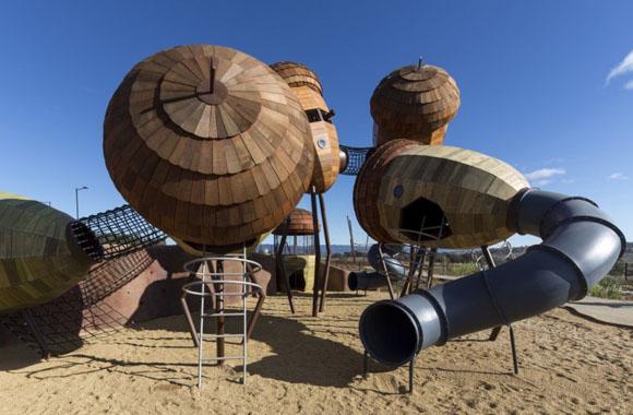Wald-Abenteuerspielplatz Pod Playground