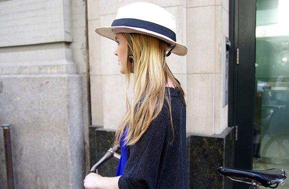 Fahrradhelme so stilsicher wie ein Hut