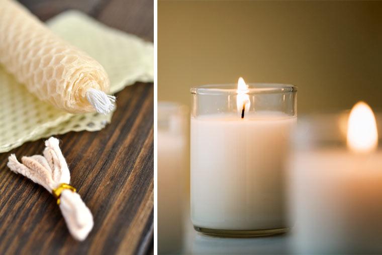 DIY Geschenkidee: Bio Kerzen selber machen
