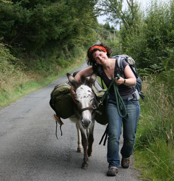 Donkey Walk ©Horse Drawn Caravan