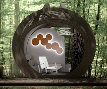 Das Spiel aus Licht und Schatten sorgt für einen kontrastreichen Wohnraum in jedem Gelände ©estudibasic.es