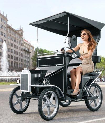 Nostalgie E-Bike für den Eco-Fahrspaß
