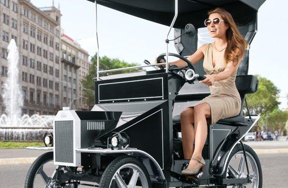 Nostalgie E-Bike für Eco-Fun mit Fahrkomfort