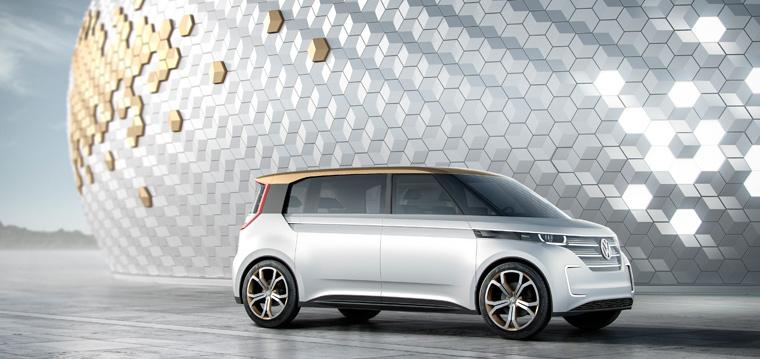 Bis Ende des Jahrzehnts soll ?Budd-e?, der neue Minibus des Automobilherstellers emissionsfrei auf unseren Straßen unterwegs sein.