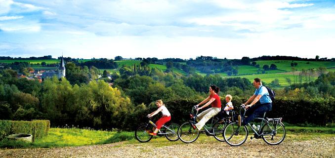 Mit der Familie und dem Fahrrad durch Limburg? Kein Problem! ©Tourismusbüro Limburg