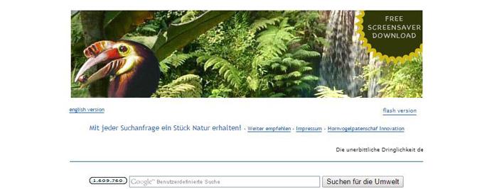 grüne Suchmaschinen hornvogel