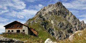 Besuch in der Hütte