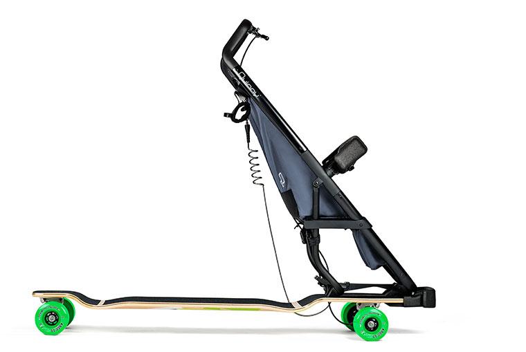 Longboard Stroller für Groß und Klein