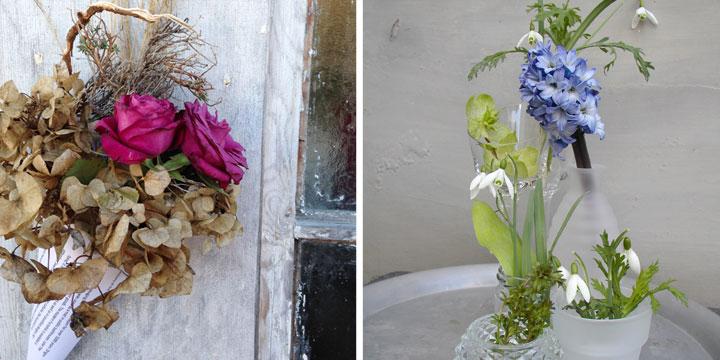 Gartendeko aus Naturmaterial: Natürlich dekorieren mit Gartenabfall, Wildpflanzen und Waldgut