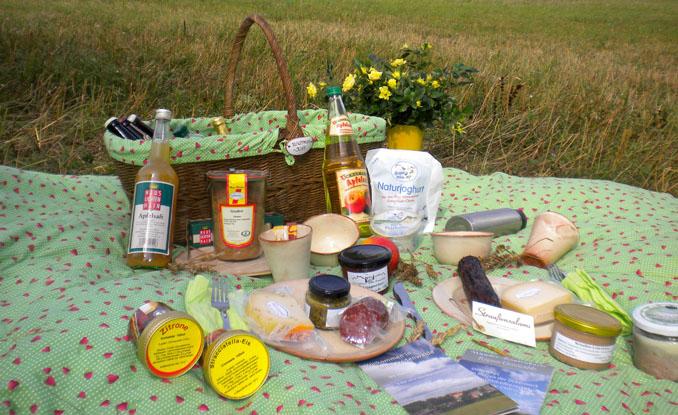 Picknicken in der Uckermark - Produkte aus der Region genißen
