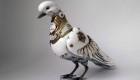 Elegante Tier Skulpturen aus Schrott