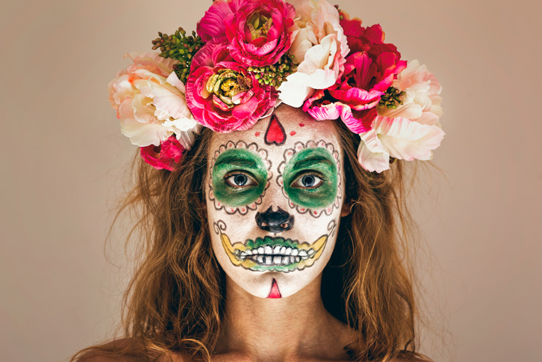 Diy Halloween Schminke Und Kunstblut Selber Machen
