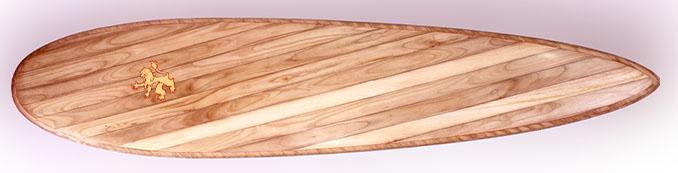 Edles Holz, Blattgold und reine Handarbeit © Roy Stuart