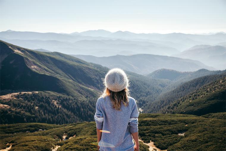 Reisen ohne Fußabdruck