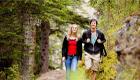 Nachhaltiges Trekking durch die wilden Wälder Deutschlands