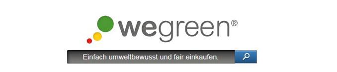 grüne Suchmaschinen wegreen
