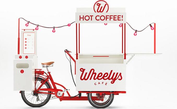 Kaffee to go Ebike