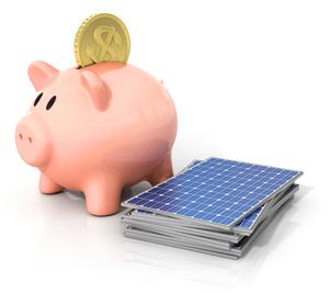 Investition nachhaltige Solarenergie