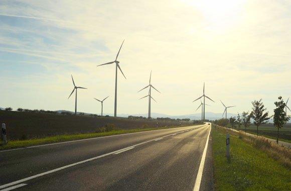 Attraktive Anlage in Windenergie
