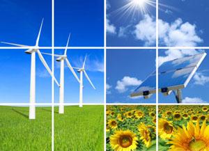 Nachhaltige Energiegewinnung ist ein zentrales Thema im nachhaltigen Anlagemarkt ©Hemera