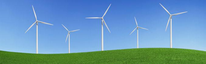 Windpark - Eine lukrative Anlage im bayerischen Odenwald ©iStockphoto