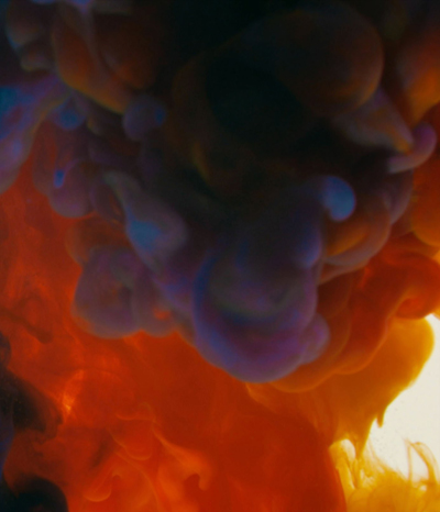 Wundervolle Farbexplosionen