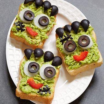 Gruselige Halloween-Snacks für Kinder schnell selbst gemacht