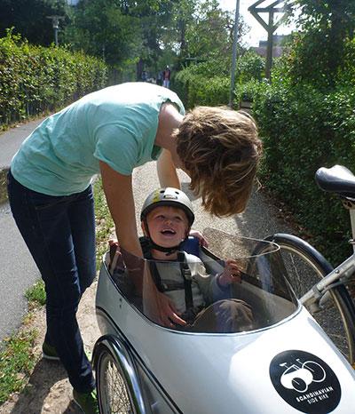 Mit dem Scandinavian Sidecar unterwegs