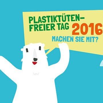 Mitmach-Aktion gegen Plastiktüten