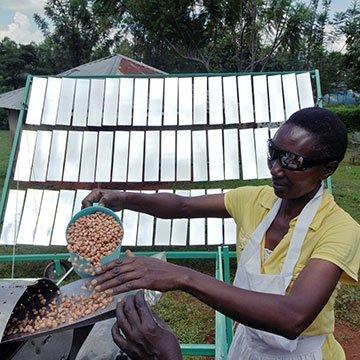 Mit Solarenergie kochen, an jedem Ort der Welt