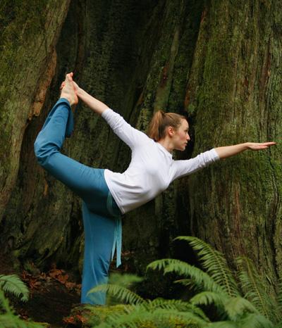 Yoga hilft gegen das Altern