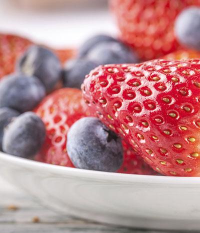 Fruchtige Naturkosmetik aus Erdbeeren