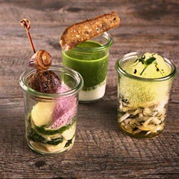 Green Glasses: Fingerfood war gestern. Heute wird eingeweckt